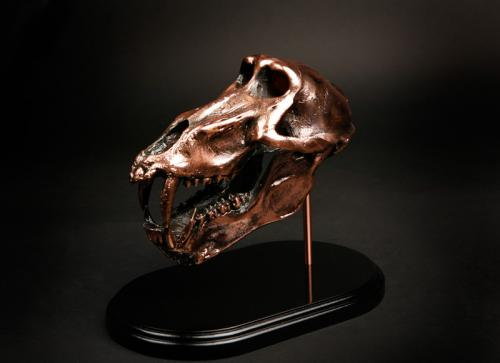 Copper-Baboon-Skull