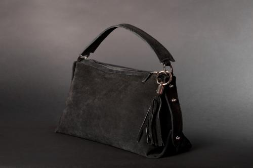 Large Suede Handbag