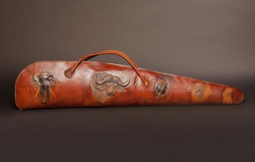 Leather-rifle-case-left