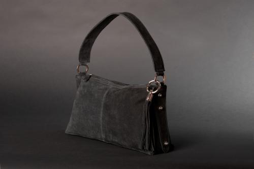 Smaller Suede Handbag